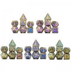 Bronze Plated Ancient Photosensitive Powder Metal dice