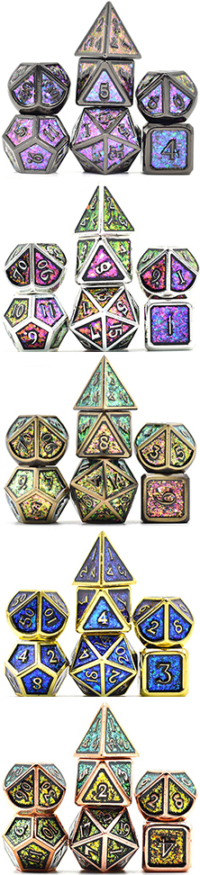 Photosensitive Powder Metal Dice