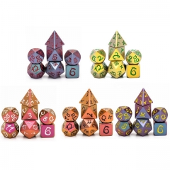 Light Changer Dragon Font Metal Dice