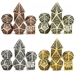 Hollow Snowflake Metal DND Dice(Patented Product)
