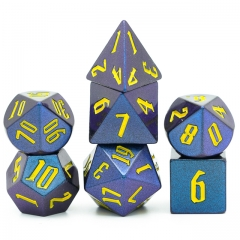 Light Change Colorful DND Dice(Purple Blue)