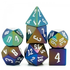 Metallic DND Dice(Colorful)